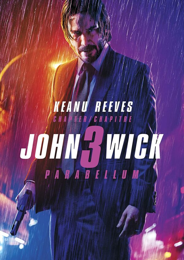 John Wick: Chapter 3 - Parabellum DVD (Bilingual)